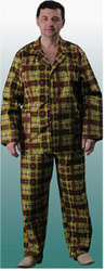 НН-ТЕКС - халат ситцевый на запах,  пуговицах,  пижама мужская,  Иваново!