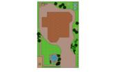 Ландшафтный дизайнер предлагает услуги по планировке территории.