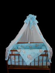 Наборы в кроватку от 2 до 8 предметов