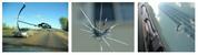 Ремонт сколов на лобовом стекле.Остановка трещины