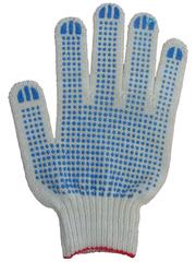 Рабочие перчатки хб с пвх