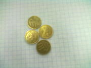 10 копеечные монеты в хорошем состояние
