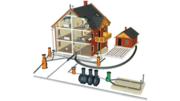 Монтаж систем отопления в частных домах и коттеджах в Иваново и Ивановской области