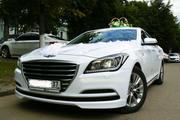 Прокат авто для свадьбы Hyundai Genesis