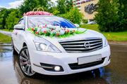Представительский свадебный кортеж Nissan Teana