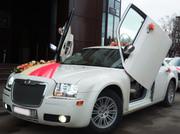 Отвезем в ЗАГС. Свадебные машины  Chrysler 300C