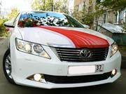 Красивые машины для свадьбы Toyota Camry