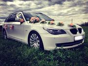 Автомобиль для свадьбы BMW 5 Series