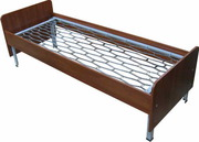 Кровати металлические трёхъярусные,  кровати для общежитий. низкие цены
