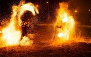 Фаер шоу(огненное представление)